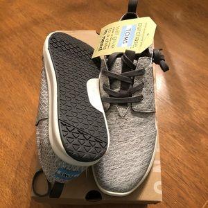 d8236140c13 Toms Shoes - NIB TOMS Grey Diamond Melange Del Rey Sneakers - 9